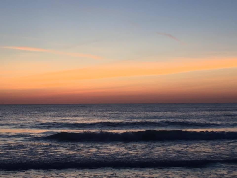 Ft. DeSoto beach sunset